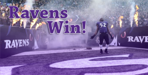 Ravens Win!!! Seems like the stars are aligning for Baltimore.