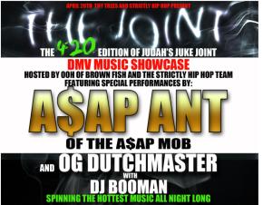 #TheJOINT: The 420 Edition of Judah's Juke Joint with performances from A$AP Ant , OG Dutch Master and More